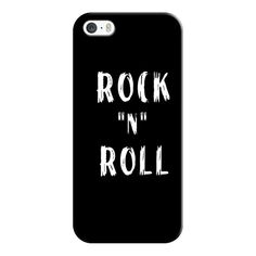 "iPhone 6 Plus/6/5/5s/5c Case - Rock ""n"" Roll (45 CAD) ❤ liked on Polyvore featuring accessories, tech accessories, phone cases, cases, iphone case, slim iphone case, iphone cover case and apple iphone cases"