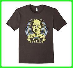 Mens John Stuart Mill Philosophy Beer T-Shirt Small Asphalt - Food and drink shirts (*Amazon Partner-Link)