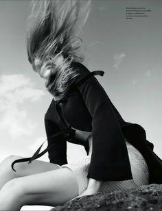 Julia Hafstrom by Txema Yeste for Numéro #161 March 2015