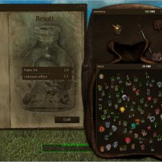 Equipment and alchemy presented