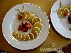 Ways to serve pancakes for children