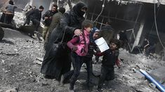 UN holds vote on Syria ceasefire as death toll climbs to 500