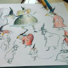 81 отметок «Нравится», 6 комментариев — Caroline Attia Lariviere (@carolineattialariviere) в Instagram: «crayon de couleur & croquis!»