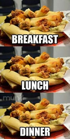 Síííííí! Quiero tamales ahora.