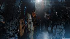 Blade Runner 2049 - 2022: Blackout , Paul Chadeisson on ArtStation at https://www.artstation.com/artwork/nPloX