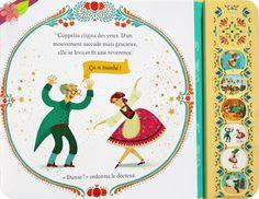 L'histoire de Coppélia Adaptation de Rosie Dickins Illustrations de Violeta Dabija Publié en 2015 par les éditions Usborne