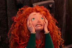 """""""What he didn't know was that she was a puzzle disguised as a princess. - Best of Memes Disney Pixar, Disney E Dreamworks, Merida Disney, Disney Icons, Disney Memes, Disney Animation, Disney Cartoons, Disney Art, Disney Characters"""