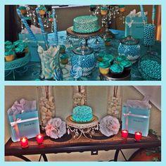 Tiffany blue candy bar