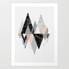 abstract, landscape, shape, triangle...