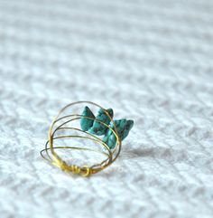 Turquoise & Gold | By Lulla & V
