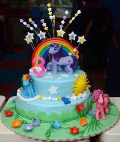 My Little Pony cake My Little Pony Cake, Birthday Cake, Cakes, Desserts, Tailgate Desserts, Deserts, Cake Makers, Birthday Cakes, Kuchen