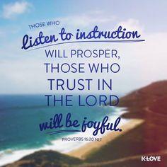 #listen #trust www.klove.com/verse