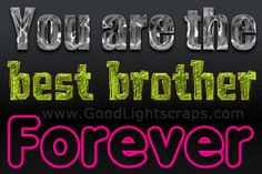 Brother Quotes Pictures and Brother Quotes Images with Message Bro And Sis Quotes, Best Brother Quotes, I Love My Brother, Love My Family, Army Sister, Brother Sister, Love U So Much, Love You, Shattered Heart