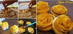 rose di pasta sfoglia e mele ricette dolci
