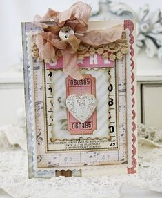 Shabby Heart Card