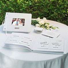 Personalized Wedding Wishes Envelope Guest Book