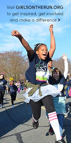 Get inspired and get involved with Girls on the Run.