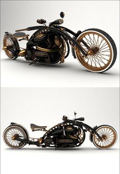 Steampunk Tendencies | The Black Widow - Steampunk Bike - Mikhail Smolyanov New Group : Come to share, promote your art, your event, meet new people, crafters, artists, performers... https://www.facebook.com/groups/steampunktendencies