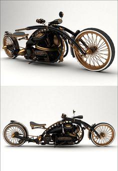 Moto steampunk - www.remix-numerisation.fr - www.ideo-gene.net - Générateur d'Optimistes Pragmatiques