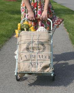 DIY market cart