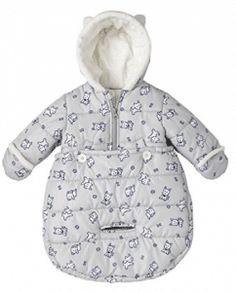 4bac717e5 London Fog Newborn Infant Baby Girl Boy Puffer Carbag Pram Bag Snowsuit  Bunting Baby In Snow