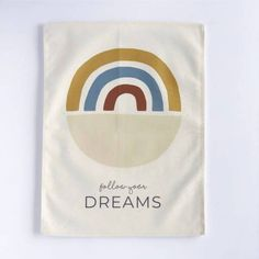 Rainbow 'Follow your Dreams' – Nursery Print – And so to Shop Kids Bedroom, Bedroom Decor, Follow You, Nursery Prints, Dreaming Of You, Rainbow, Dreams, Shopping, Rain Bow