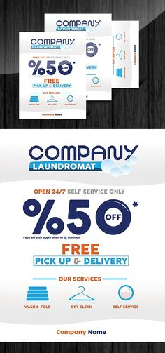 Pin by best graphic design on flyer templates pinterest for Laundry flyers templates