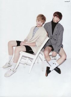 NCT Dream for Oh! Boy Magazine Chenle and Jaemin