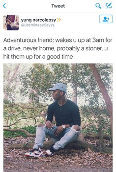 Adventurous friend
