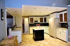 The new kitchen inside a house of the week in Central New York