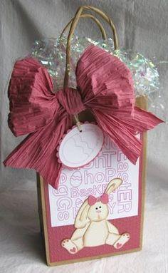 DIY Easter gift bags