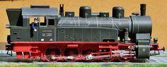 Paper model steam locomotive Prussian T 16.1