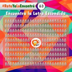 Encuentra La Letra Escondida  #Juegos #Retos #RetosVisuales #Letras