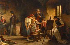 francisco gomez painting   Rudolf Epp (1834 – 1910, German)