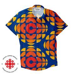 1aaecfa7328 CBC Retro Short-Sleeve Button Down Shirt