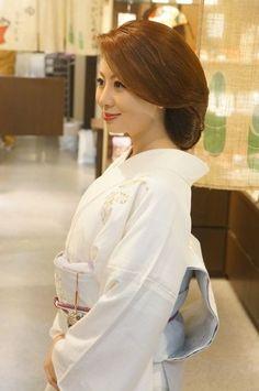 ★ 和服 着物のヘアセット ★銀座ホステスさん髪型和髪★   銀座高級クラブホステス the567 のブログ
