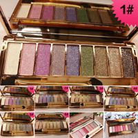 9 Colors Natural Shimmer Eyeshadow Eye Shadow Palette&Makeup Cosmetic+ Brush Set
