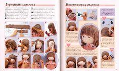 umbebenacamiseta: boneca japonesa passo -a - passo com moldes