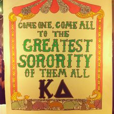 A circus themed bid night would actually be my dream come true