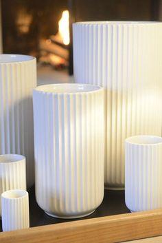 Smukke vaser fra Lyngby Porcelæn
