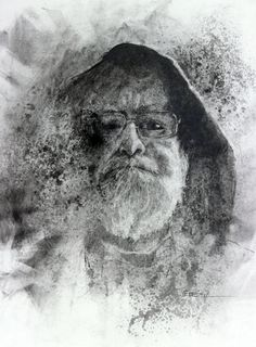 https://flic.kr/p/dWp4hi | David Adams for JKPP | David Adams, artist and alchemist. You can find him here on flickr at nkimadams Powdered graphite, pencil, paint thinner and alcohol on Bristol. 10.5X 13.5 inches