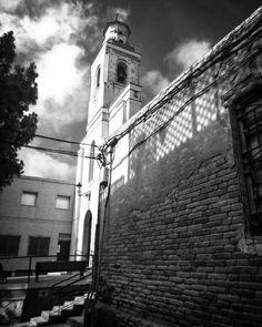 #church in the Barrio de la Concepcion #cartagena #spain #españa#architecture #buildings #belltower #nexus6 #hdr #hdr_captures  #motorola #nexus #mobilephotography #blackandwhite #blackandwhitephotography #black_white #bnw_maniac #bnw_life #bnw_society #bnw #monochrome #monochromatic #mono #nexus6 #Motorola #nexus #Google #mobilephotography#buildings #architecture