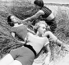 At the Beach with Nina Leen