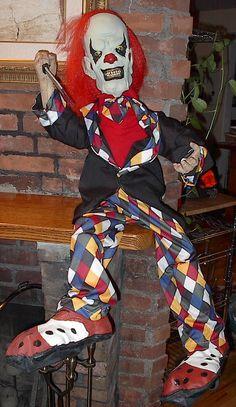 Evil clown doll