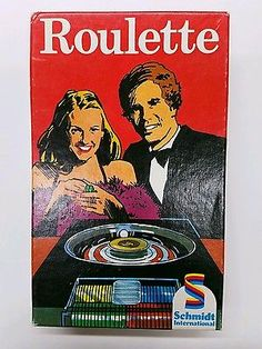 Vintage Roulette Game - Very RARE! Excellent Condition! Schmidt International