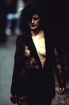 1996-97 - Galliano 4 Givenchy Couture - Stella Tennant