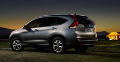 2012 Honda CR-V    A stylish new design helps the CR-V feel at home just about anywhere. The best part of camping is when the sun goes down. #2012CRV #LeapList