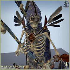 Skeleton Sorcerer | 3D Model