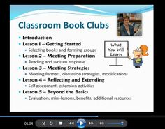 Watch this 2-minute video to learn about the components of the Classroom Book Clubs program $