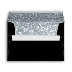 Custom Envelope - (5x7) Black Fab